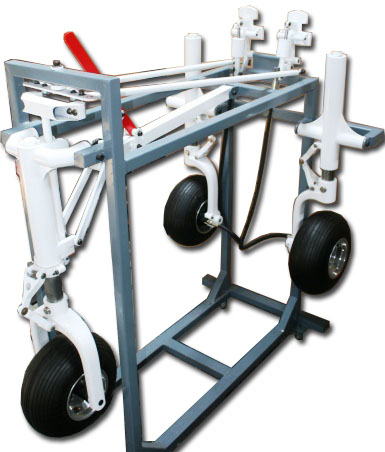 Aircraft Tricycle Landing Gear System Trainer AH-30