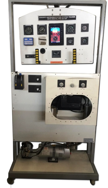 Cockpit Instrumentation System Trainer with Digital PFD AS-76P